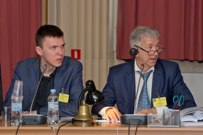 A.V. Motorin (Russia) and Dr. , Prof. O.A. Stepanov (Russia)