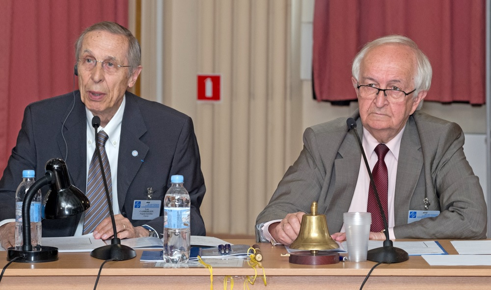 L. Camberlein (France) and B.S. Rivkin (Russia)